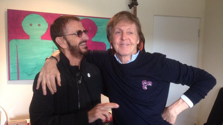 Újra együtt zenélt Paul McCartney és Ringo Starr