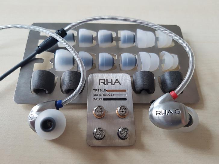 Az RHA egészen profi hangeszközöket is gyárt, ilyen például a képen is látható RHA-Audio T10, ami már közel 60 ezer forintba kerül