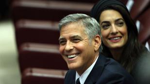 A Clooney család nem utazik többet veszélyes országokba az ikrek miatt