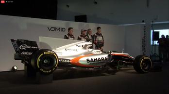 F1-űrsiklónak néz ki a Force India-Mercedes