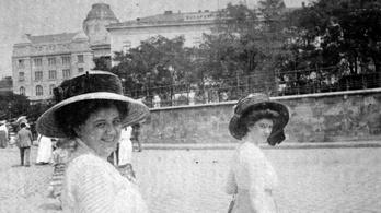 100 éves házak a Dunaparton