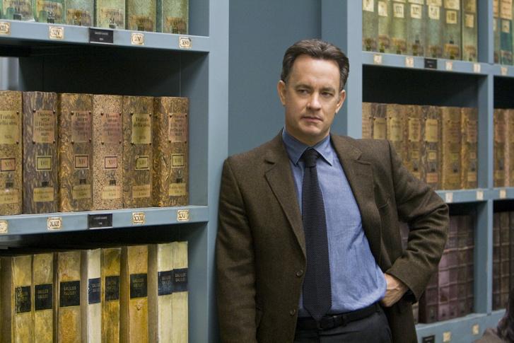 Tom Hanks az Angyalok és démonok című filmben