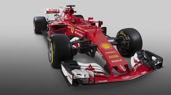 Feltűnően fura megoldás az F1-es Ferrarin