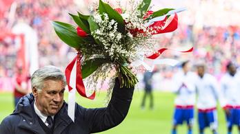 Ancelotti 8-0-s kiütéssel ünnepelte az 1000. meccsét