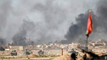 Egyre jobban eldurvul Moszul ostroma