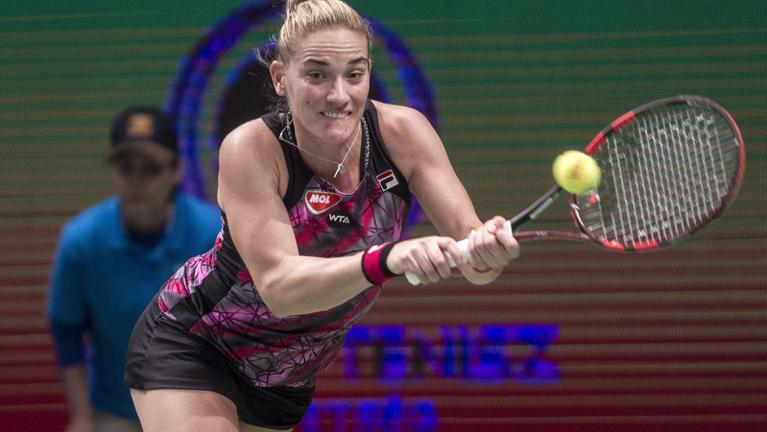 Babos Tímea nyerte a budapesti tenisztornát