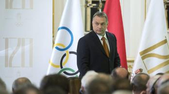 Budapesti olimpia: Orbán elugrott a vonat elől