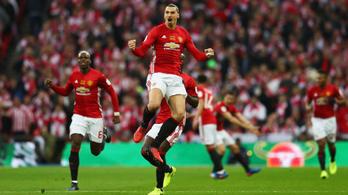 Ibrahimovic a hős, megvan Mourinho első kupája a Unitednél