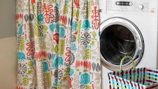 Csipkemintás mosógép a hálószobában? Miért ne!