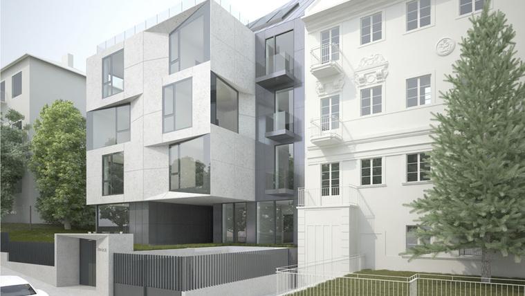 Igényes szomszédot kap a neobarokk budai lakóház