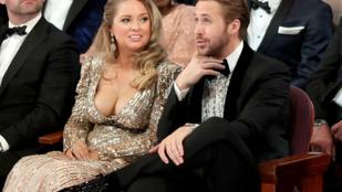 Ryan Gosling Eva Mendes helyett ezt a dögös nőt vitte el az Oscarra