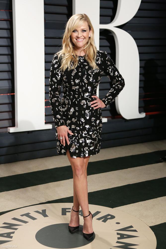 Ezen az alapon Reese Witherspoon is megér egy képet, mert ugyan csak a vádliját lehet látni, de összességében nem mondhatjuk azt, hogy szarul nézett ki
