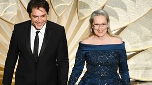 Meryl Streep végül Elie Saab ruhában ment az Oscarra