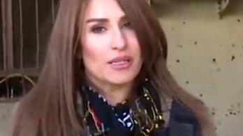 A halálgödröt kereste a kurd újságírónő, bomba robbant mellette