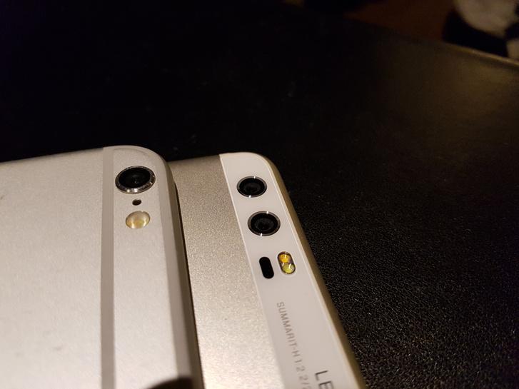 A Huawei a P10 dupla Leica kameráját is el tudta helyezni a készülékházban, ami az Apple-nek egy kamerával sem sikerült