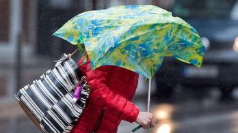 Esővel, viharos széllel köszönt be a naptári tavasz