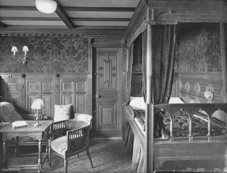 Ez volt az egyik szoba az első osztályon.