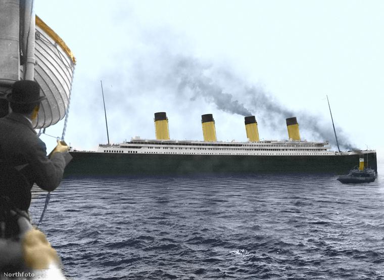 A Titanic egyik legnagyobb rajongója, Thomas Schmid egy nagyon egyszerű, de nagyszerű ötlettel állt elő: fogta a korabeli fotókat, és kiszínezte azokat