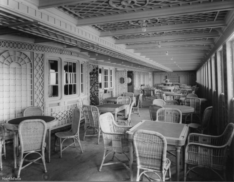 Így nézett ki egy étterem a Titanic fedélzetén