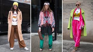 Utcai divat: a pulóver az új motoros dzseki