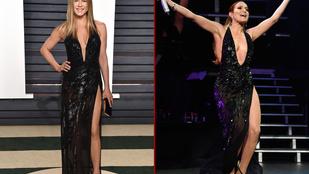 De hogy került Jennifer Lopez ruhája Jennifer Anistonra?