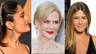 Oscar ékszerek, avagy így fest 10 millió dollár Jennifer Anistonon