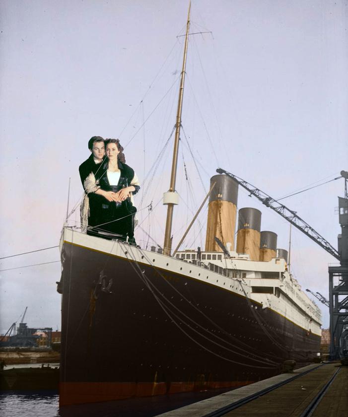 Lenyűgözően szép képek készültek az 1912-ben elsüllyedt Titanic óceánjáró hajóról - galériánkban megnézheti, hogy milyen is volt ez a luxusjármű valójában