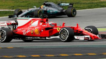 Räikkönen és a Ferrari nagyon belehúzott