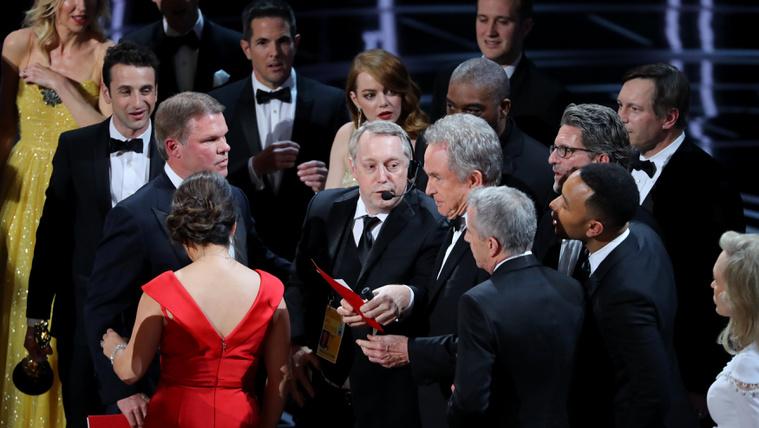 Elnézést kért a Filmakadémia az Oscar-bakiért