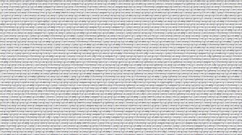 Három és fél órába telik kimondani a legnagyobb fehérjemolekula teljes nevét