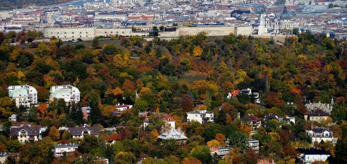 9538 Budapesten az osszel a Gellert hegy es kornyeke