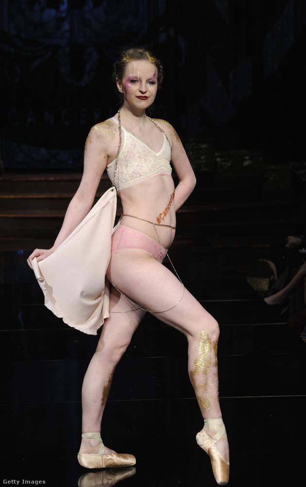 Rajta nem csak dísznek van a balettcipő: Maggie K valóban balett-táncosnő volt, amíg 23 éves korában közbe nem szólt a mellrák