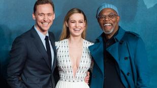 Brie Larson rettentően merész dekoltázzsal premierezett