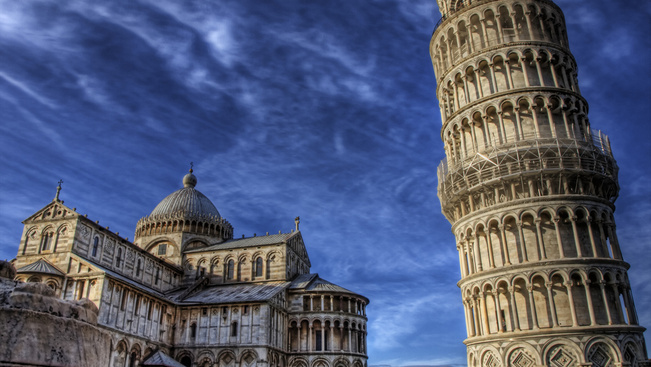 Pisának nem elég a ferde torony, óriáskerék kell