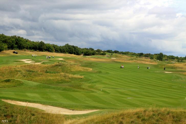 A balatonudvari Royal Balaton Golf & Yacht golfpályája.