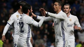 1-3-ról, 10 emberrel jött vissza a Real Madrid