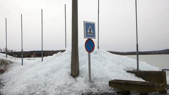 Két napon belül elolvad a jég a Balatonon