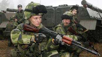 Visszaállítja a sorkatonaságot az orosz fenyegetés miatt Svédország