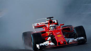 Räikkönen a végére még élre vitte a Ferrarit