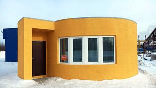 Az oroszok is beszálltak a 3D-s háznyomtatásba