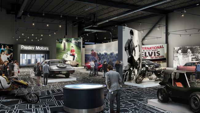 Új Elvis Presley szórakoztatóközpont nyílt Memphisben
