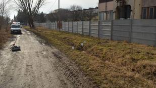 Halálra gázoltak és cserben hagytak egy férfit Győrnél