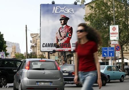 Palermóban bárhol belefuthatunk Hitlerbe