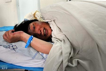 Cheng Lin, a hatvanéves kínai anyuka