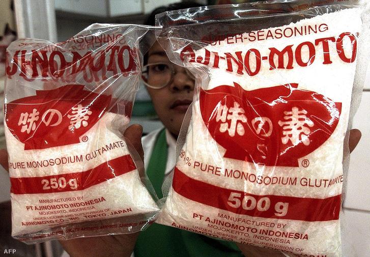 """Aji-No-Moto, annyit tesz magyarul, hogy """"az íz lényege""""."""