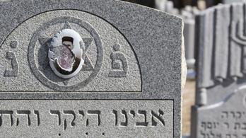 Újabb zsidótemetőt rongáltak meg Amerikában