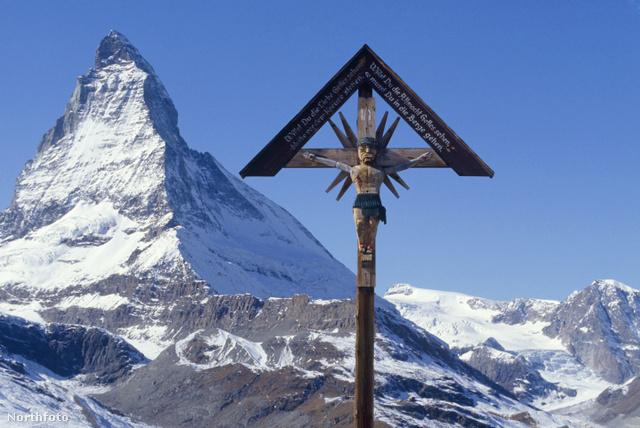 Svájc legendásan szép hegycsúcsa, a Matterhorn
