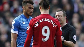 Zlatan Ibrahimovic Mings Manchester United Bournemouth balhé