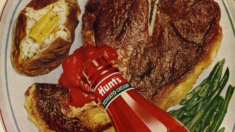 Szürpríz: steaket jól átsütve, ketchuppal?