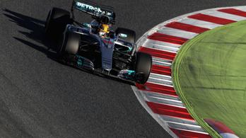 Félelmetes hír az F1-nek: két másodpercet gyorsul a héten a Merci